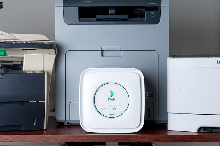 etere trattiene emissioni delle stampanti