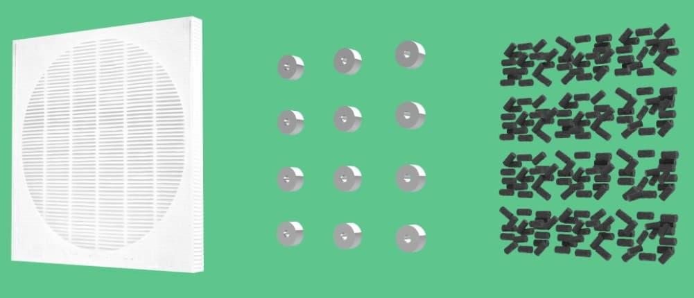 Filtro HEPA, Strato Magnetico e Carboni Attivi: Filtro HeMaCa Brevettato